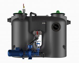 Riebalų skirtuvas pump m
