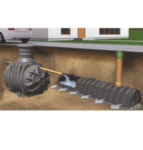 Infiltracijos tunelis po žeme