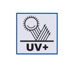 atsparus UV spinduliavimui