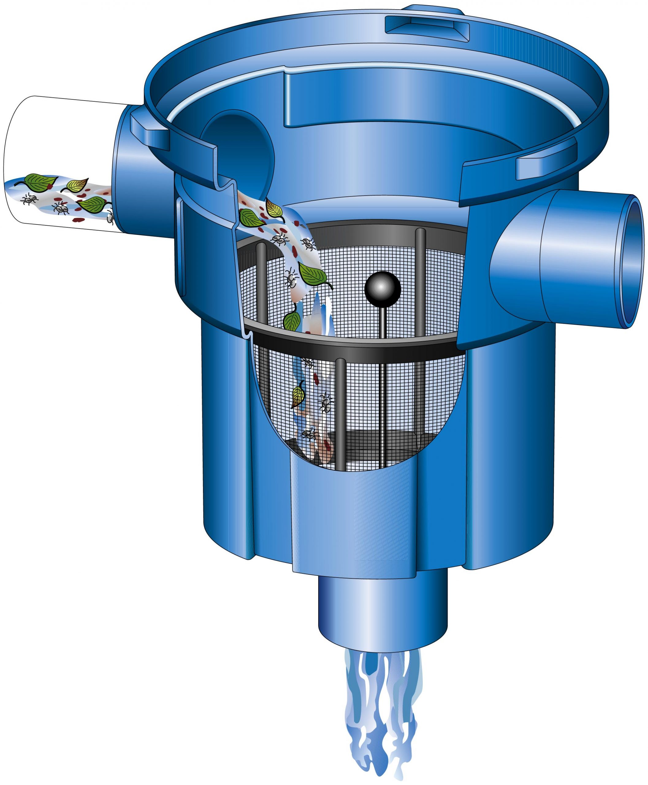 lietaus vandens naudojimas: filtras